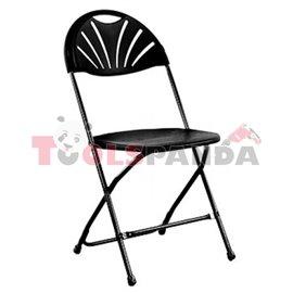Кетъринг стол сгъваем черен