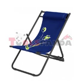 Стол плажен FLОWER 7 тъмно син 3-позиционен