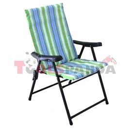 Стол сгъваем зелен