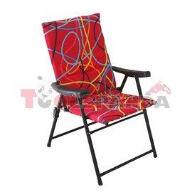 Стол сгъваем червен