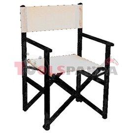 Стол режисьорски алуминиев сгъваем бежов