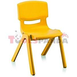 Детско столче JUMBO жълто 42x34x58см.