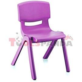 Детско столче JUMBO лилаво 42x34x58см.