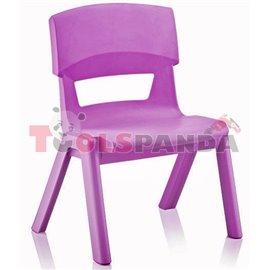Детско столче JUMBO лилаво 33x25x48см.