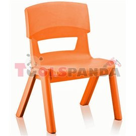 Детско столче JUMBO оранжево 33x25x48см.