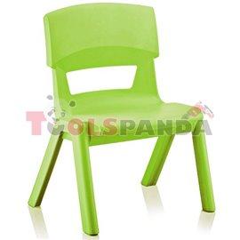 Детско столче JUMBO светло зелено 33x25x48см.