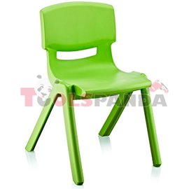 Детско столче JUMBO зелено 42x34x58см.
