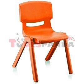 Детско столче JUMBO оранжево 42x34x58см.