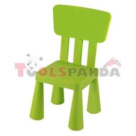 Детско столче с облегалка зелено