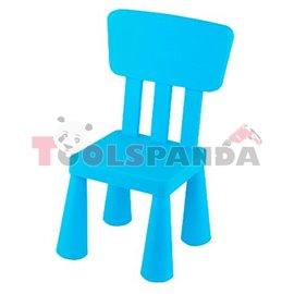 Детско столче с облегалка синьо