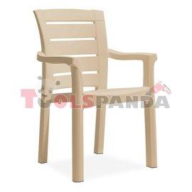 """Стол """"MILANO WOOD"""" капучино 57x60x90см."""