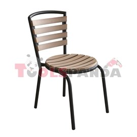 Стол с кръгла седалка 60x60x65см.