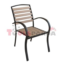 Стол с подлакътник 56x60x88см.