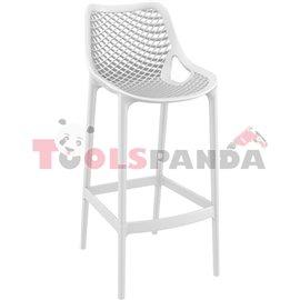 Бар стол бял AIR