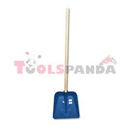 Лопата метална за сняг с дръжка