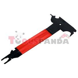 Инструмент универсален 10 в 1 за тапцерия, чистене на скреж, премахване на щипки и много други
