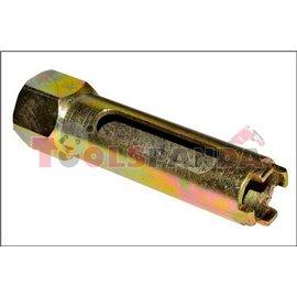 Вложка за демонтаж на инжектори за дизелови двигатели на камиони MAN, MERCEDES-BENZ, SCANIA, VOLVO, дължина на вложката 120 мм и