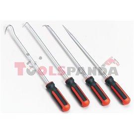Инструменти за демонтаж на предно стъкло 380 мм 4 броя к-т