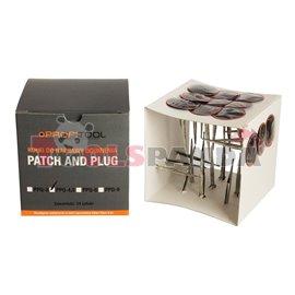 """Лепенка за гуми тип """"гъба"""" PPQ (24 броя в пакет цена за пакет 4.5 мм."""