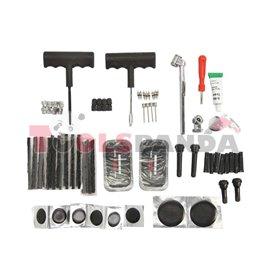 Инструменти за гуми шило и свредло с ръкохватка, лепило и други к-т