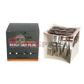 """Лепенка за гуми тип """"гъба"""" PPQ (24 броя в пакет цена за пакет 9 мм."""