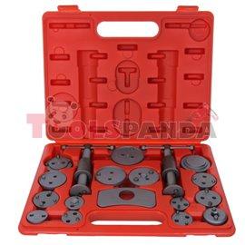 Инструменти за ремонт на спирачни системи 18 части к-т   PROFITOOL