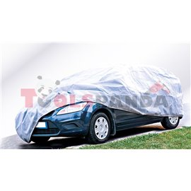 Покривало за автомобил водоустойчиво всесезонно PERFECT M сиво с UV защита за: Fiesta Corsa Polo Punto I, II Ibiza Picanto A Cla