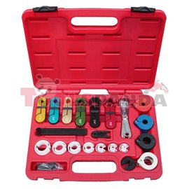 Инструменти за демонтаж на кабели на климатик и гориво 21 елемента к-т