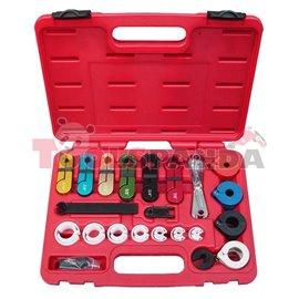 Инструменти за демонтаж на кабели на климатик и гориво 21 елемента к-т | PROFITOOL