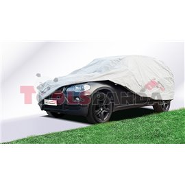 Покривало за автомобил водоустойчиво всесезонно PERFECT L сиво с UV защита джип и бус