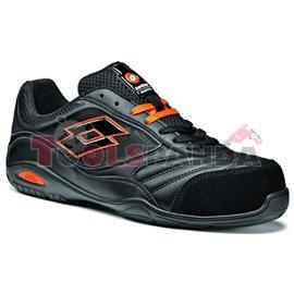 Работни обувки от естествена кожа Размер: 41 черни