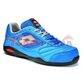 Работни обувки от естествена кожа Размер: 45 сини