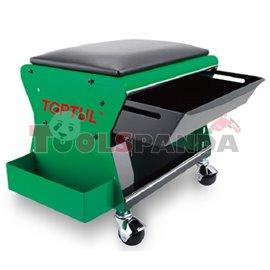 Сервизен стол тапициран с чекмедже и отделение за инструменти