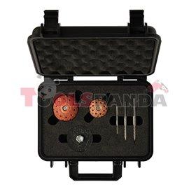 Инструметни за ремонт на гуми на леки, лкотоварни и 4х4 автомобили в куфар