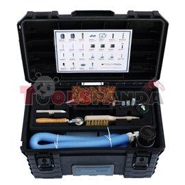 Комплект материали и инструменти за ремонт на гуми автомобилни, бусове, 4х4