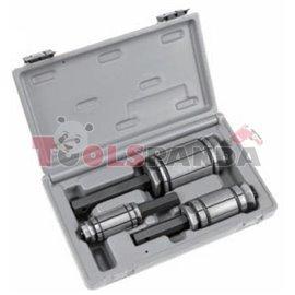 Инструменти за монтаж на изпускателна система/тръби 3 броя: малки 30-44 мм, 38-62 мм, големи 54-87 мм к-т