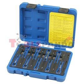 Инструменти за окабеляване и конектори 6 броя к-т