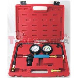 Инструменти за проверка на течове и налягане в охладителната система с конектори к-т