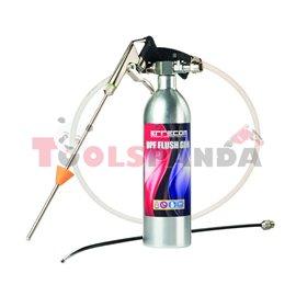 Пистолет с резервоар за почистване и измиване на филтър за твърди частици DPF