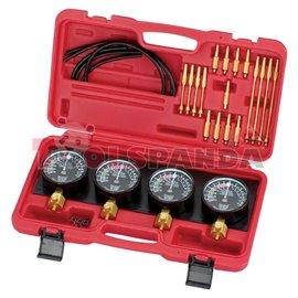 Инструменти за синхронизация на карбуратори с 4 манометъра за синхронизиране к-т