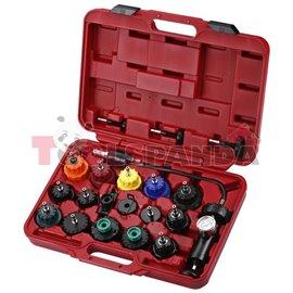 Инструменти за проверка на течове и налягане в охладителната система к-т