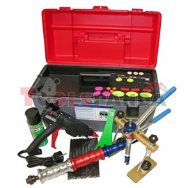 Инструменти за изтегляне на ламарина за изправяне на каросерията след удари