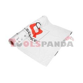 Предпазни найлонови калъфи за автомобилни седалки с логото на Q-SERVICE, 100бр. | PAK-HURT