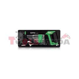 Комплект инструменти - ножовка регулируем ключ и избивачи