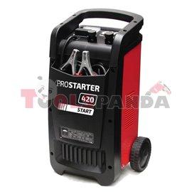 Зарядно стартерно устройство за акумулатор 12/24V PROSTARTER 420Р