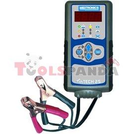 Тестер за проводимост на акумулатор 12V PB/AGM със система за проверка на тока