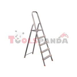 Стълба алуминиева домакинска 3+1 | STS
