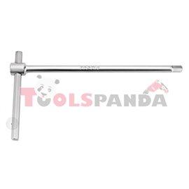 Ключ Т-образен с плъзгащо се рамо шестограм 8х250мм.