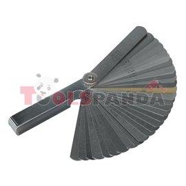 Луфтомер с 32 метални пластини | SEALEY