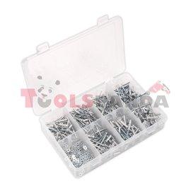 Попнитове алуминиеви 200 броя в кутия | SEALEY